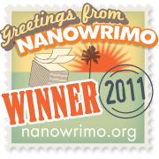 I won NaNoWriMo 2011