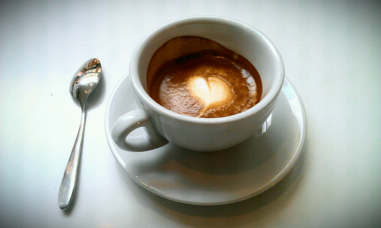 Monday coffee: double espresso macchiato – espresso coco