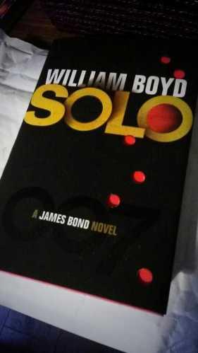 William Boyd's James Bond novel, Solo