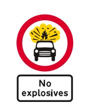 no explosives