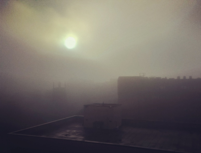 Foggy Leeds