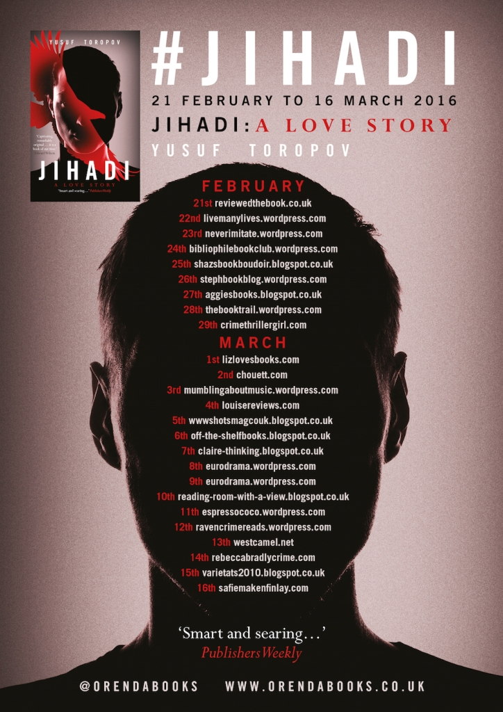 JIHADI Blog tour Banner