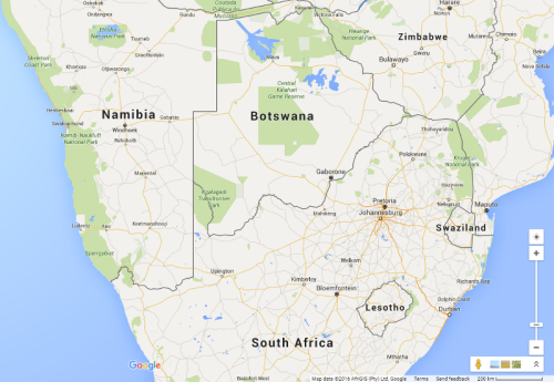 Botswana | Google Maps