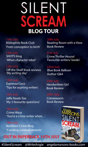 Silent Scream Blog Tour Banner